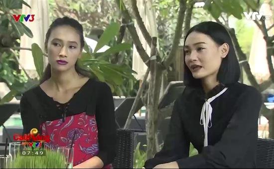 """Café Sáng với VTV3: Gặp gỡ """"song Trang"""" của Vietnam's Next Top Model"""