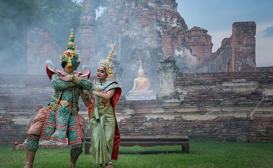 Những hình ảnh đẹp ngỡ ngàng về vũ điệu truyền thống của người Thái