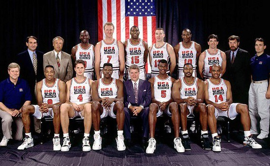 Hành trình ấn tượng của ĐT bóng rổ Mỹ tại Olympic Barcelona 1992
