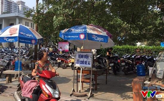 Bệnh viện Bạch Mai có chỗ gửi xe mới