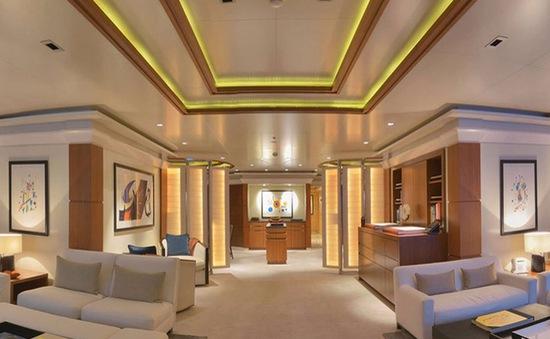 """""""Choáng"""" với những siêu du thuyền có giá thuê gần triệu đô mỗi tuần"""