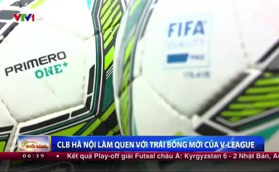 V.League 2016: Các đội bóng đau đầu vì trái bóng mới