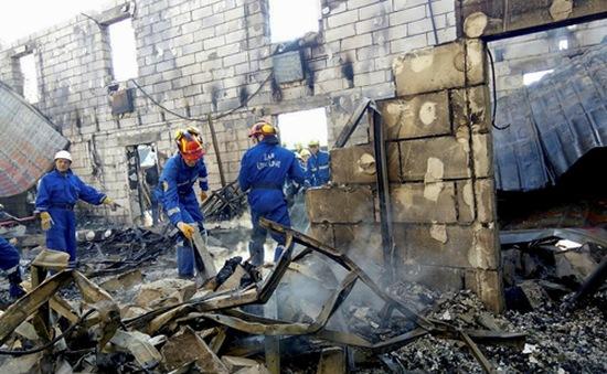 Ukraine: Hỏa hoạn tại nhà dưỡng lão, 17 người thiệt mạng