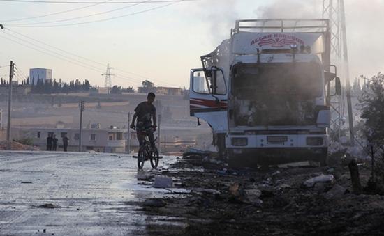 Mỹ: Nga phải chịu trách nhiệm về vụ không kích xe cứu trợ LHQ