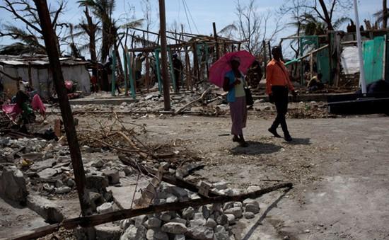 Hoạt động viện trợ tại Haiti gặp khó do hậu quả bão Matthew