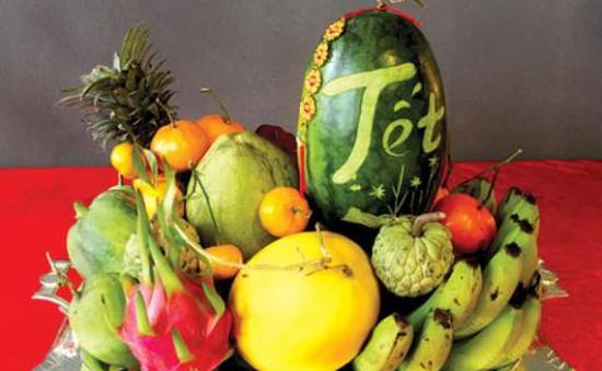 Hoa quả Việt được người dùng lựa chọn dịp Tết