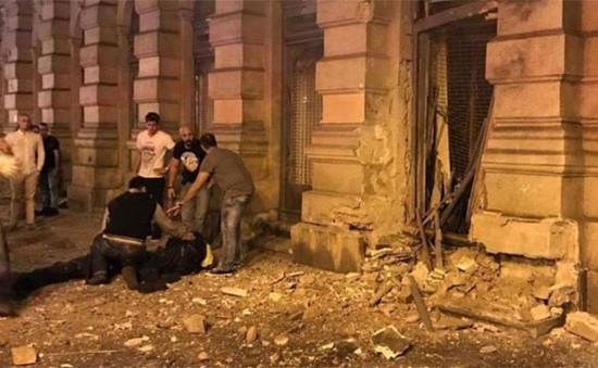 Nổ lớn ở thủ đô của Hungary, nhiều người thương vong