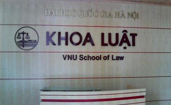 Nâng cấp Khoa Luật thành trường Đại học thuộc ĐH Quốc gia Hà Nội