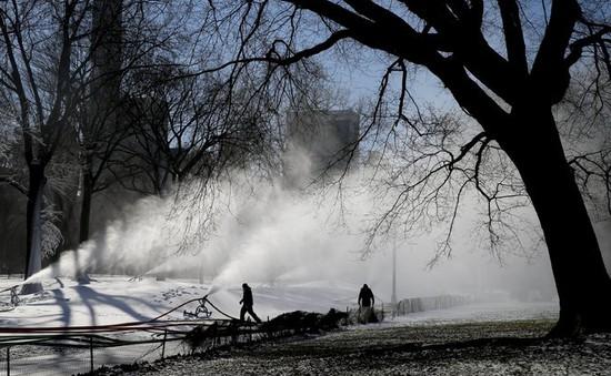 """Bờ Đông nước Mỹ có nguy cơ bị """"nhấn chìm"""" do bão tuyết"""