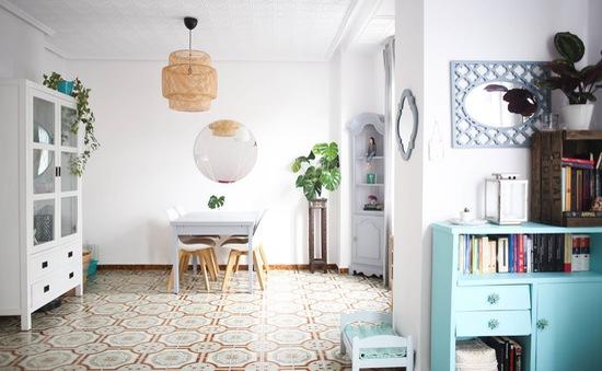 Mê mẩn căn hộ 120m2 với phong cách Địa Trung Hải