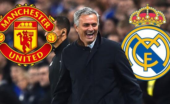 Real Madrid bất ngờ tranh giành Mourinho với Man Utd