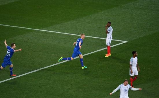 EURO 2016: Ngược dòng đánh bại ĐT Anh, Iceland tiếp tục hành trình thần kỳ