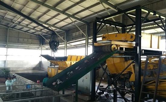 Khánh thành nhà máy xử lý rác hiện đại nhất ĐBSCL