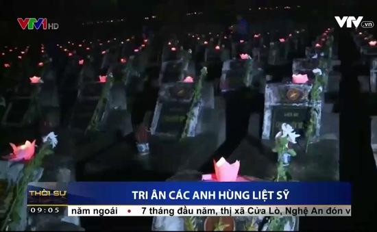 """Hà Nội: Hàng nghìn người tham dự """"Lễ thắp nến tri ân các Anh hùng Liệt sỹ"""""""