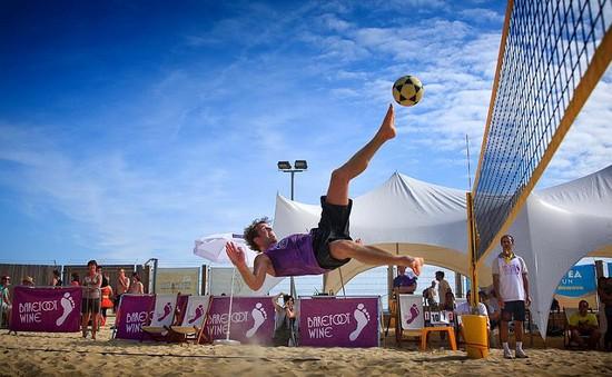 Futvole - môn thể thao thú vị ở bãi biển Ipanema