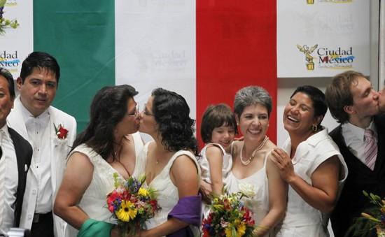 Mexico đề xuất hợp pháp hóa hôn nhân đồng tính