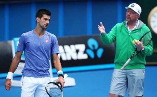 CHÍNH THỨC: Novak Djokovic chia tay HLV Boris Becker