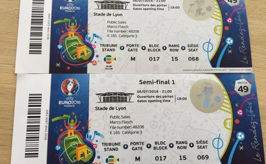 Vé bán kết EURO 2016 trên Wales – Bồ Đào Nha đã bán hết