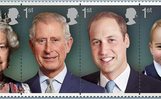 Nước Anh phát hành tem kỷ niệm sinh nhật thứ 90 của Nữ hoàng Elizabeth đệ Nhị