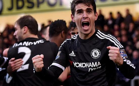 C.Palace 0-3 Chelsea: Thầy trò Hiddink tưng bừng mừng năm mới