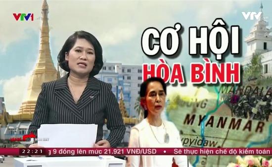 Gian nan hành trình tìm kiếm hòa bình ở Myanmar
