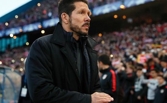 HLV Diego Simeone tiếp tục gắn bó với Atletico Madrid