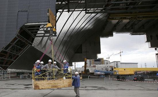 Ukraine xây mái vòm mới bao bọc nhà máy hạt nhân Chernobyl
