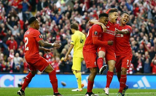 Đánh đắm Tàu ngầm vàng, Liverpool vào chung kết Europa League