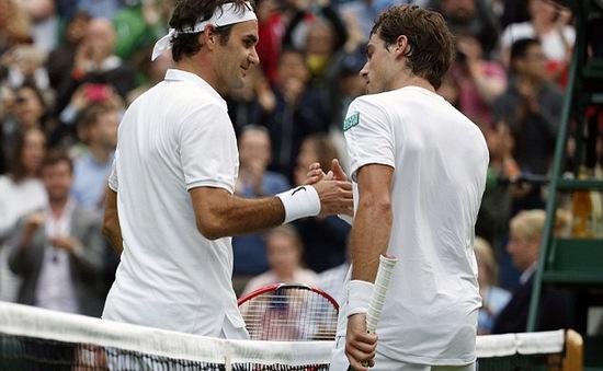 Wimbledon 2016: Roger Federer khởi đầu khó khăn