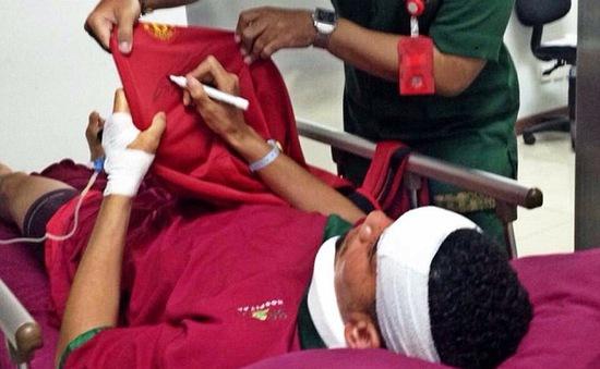 Trung vệ số 1 của Man Utd gặp nạn khi đi nghỉ ở Indonesia