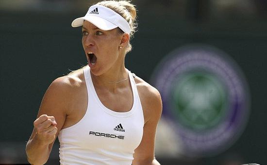 Wimbledon 2016: Đánh bại Venus Williams, Kerber lần đầu vào chung kết