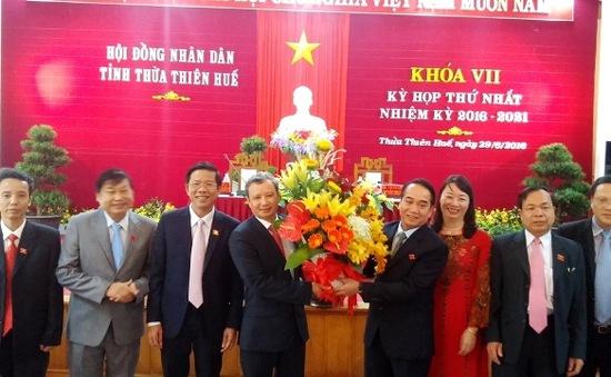 TT-Huế: Kiện toàn các chức danh HĐND, UBND tỉnh nhiệm kỳ 2016-2021