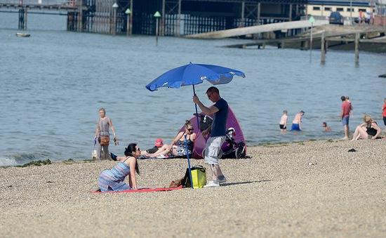 Nắng nóng bất thường ở châu Âu