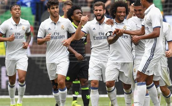VIDEO Real Madrid 3-2 Chelsea: Show diễn của Marcelo và Hazard
