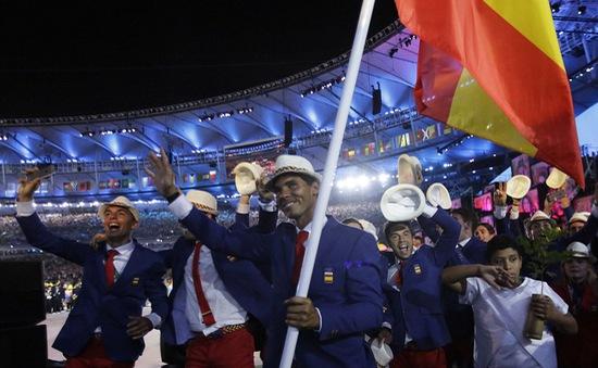 Sao tennis nổi bật trong lễ khai mạc Olympic  Rio 2016