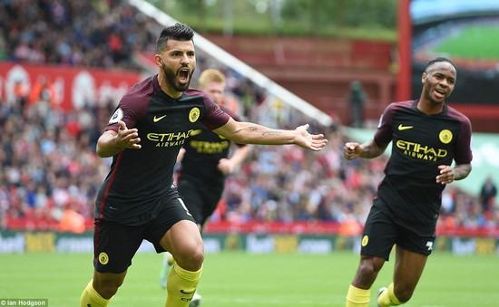VIDEO, Stoke City 1-4 Man City: Aguero cùng Nolito lập cú đúp, Man City thắng ấn tượng!