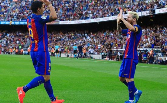 Barcelona 6-2 Real Betis: Suarez, Messi tỏa sáng, Barca thắng đậm ngày La Liga khai màn