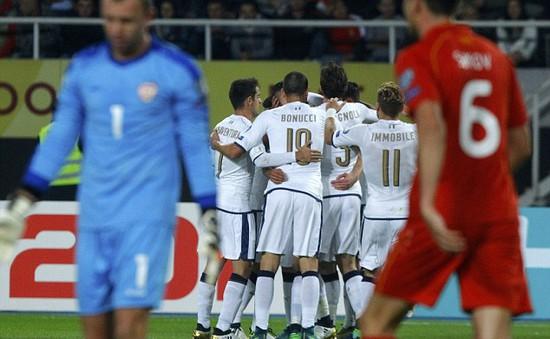 VIDEO, Macedonia 2-3 Italia: Immobile tỏa sáng, Italia ngược dòng ngoạn mục