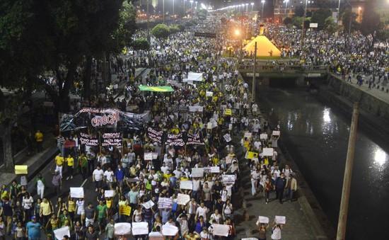 Cảnh sát  và lực lượng cứu hỏa Brazil đồng loạt đình công