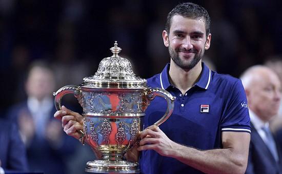 Basel Open: Đánh bại Nishikori, Marin Cilic giành danh hiệu ATP 500 đầu tiên