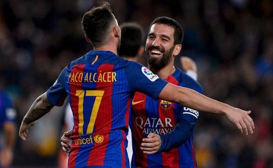 Lượt về vòng 1/16 Cúp Nhà Vua, Barcelona 7-0 Hercules: Chiến thắng thuyết phục