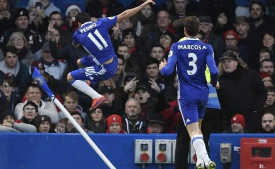 Chelsea 3-0 Bournemouth: Chạm mốc 12 chiến thắng liên tiếp