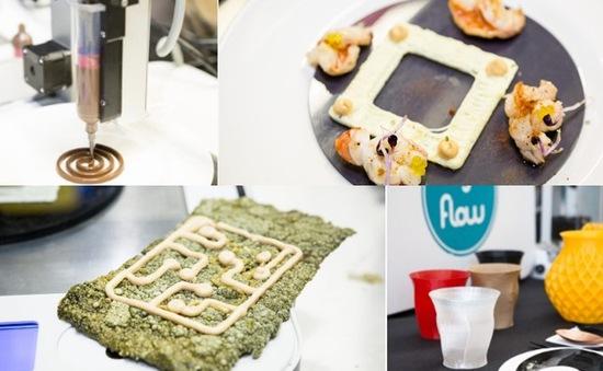 Gần 7 triệu đồng/bữa tối làm từ công nghệ in 3D
