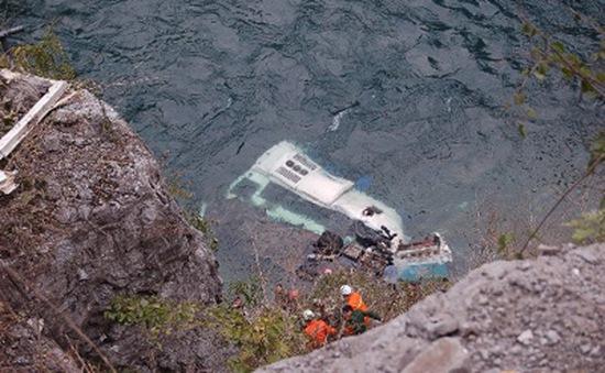 Tai nạn xe khách tại Trung Quốc, hơn 30 người thương vong