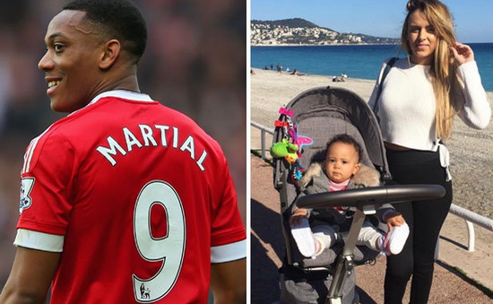 Martial bị vợ cũ chọc tức sau vụ Ibra giành áo số 9 ở Man Utd