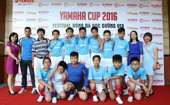 VCK Festival bóng đá học đường U13 – Yamaha Cup 2016 bắt đầu từ 1/6