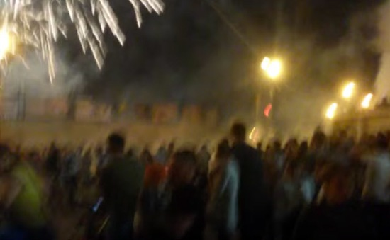 Pháo hoa rơi trúng đám đông, 11 người thương vong tại Nga