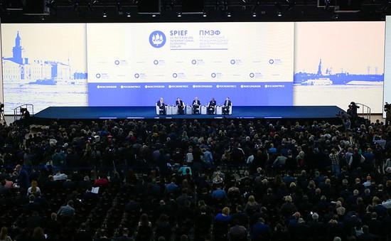 Khai mạc Diễn đàn Kinh tế Quốc tế Saint-Petersburg lần thứ 20