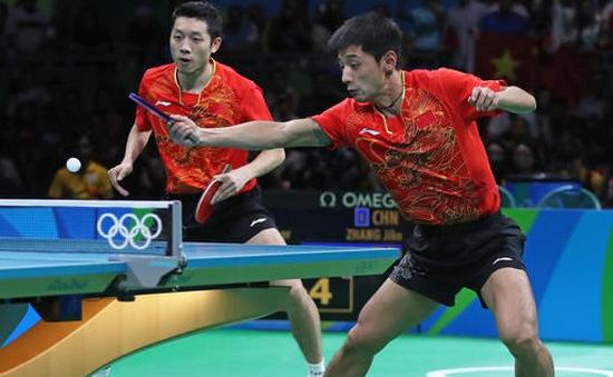 Trung Quốc ẵm trọn 4 HCV môn bóng bàn 3 kỳ Olympic liên tiếp