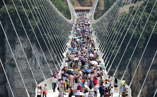 Cầu kính dài nhất thế giới đóng cửa vô thời hạn chỉ sau 13 ngày